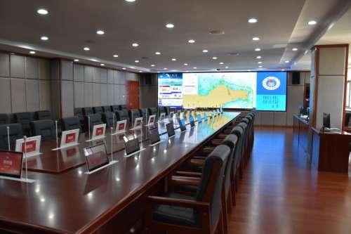 itc无纸化会议等音视频系统成功应用于烟台市海洋与渔业局.docx