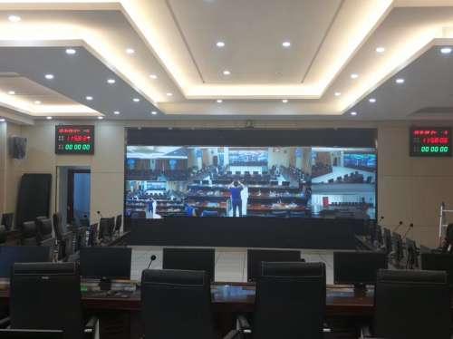 itc音视频系统成功应用于山东威海某应急指挥中心.docx