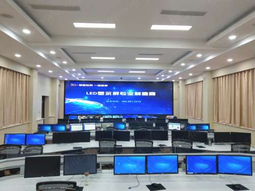 油田生产指挥中心LED显示屏英超360直播应用方案.docx