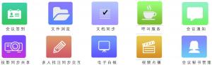 无纸化多媒体会议系统功能