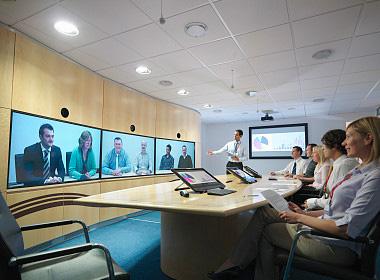 可兼容高清视频会议通讯系统