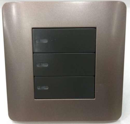 TR-0723三鍵燈光控製麵板