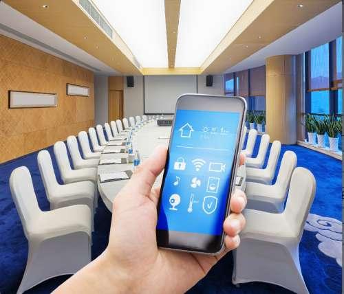 小型多媒體會議室中控係統應用方案.docx
